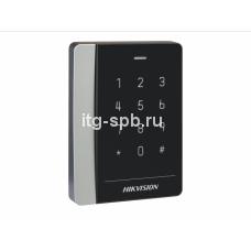 DS-K1102MK-Считыватель Mifare карт с сенсорной клавиатурой Hikvi