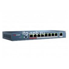 DS-3E0109P-E-9-канальный PoE-коммутатор Hikvision