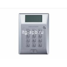 DS-K1T802M-Терминал доступа со встроенным считывателем Mifare ка