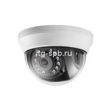 DS-2CE56H5-IRMMU — HDTVI-видеокамера в купольном корпусе с разре