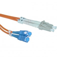 SC-LC-1-Meter-Multimode-Fiber-Optic-Cable